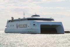 Express 4 ankommer fra Aarhus